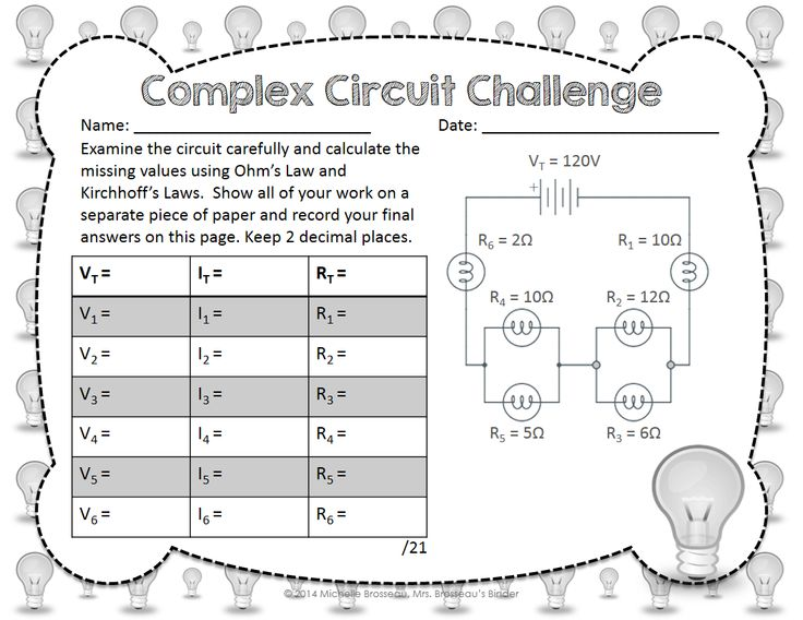 Complex Circuit Challenge - Ohm's Law & Kirchhoff's Law in