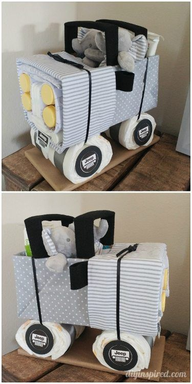 DIY Diaper Jeep Instructions | *DIY Holidays ...