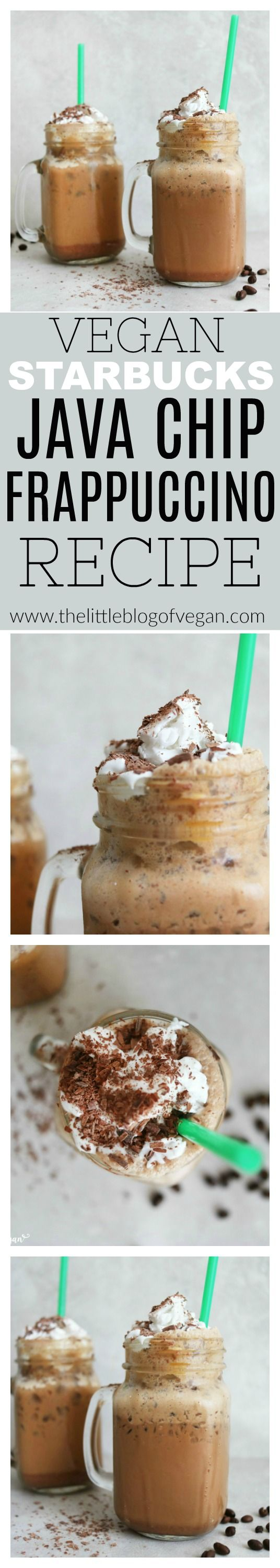 How to make a VEGAN Starbucks Java Chip Frappuccino!!! Absolutely delicious!