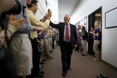 Hun School teacher Frank Dippery retires