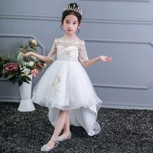 As meninas se vestem de Natal Crianças Evening Party Dress Girls Costume Kids Dresses For Girls Princess Dress Flower Girls Wedding Dress   – BEST CHRISTMAS DRESS