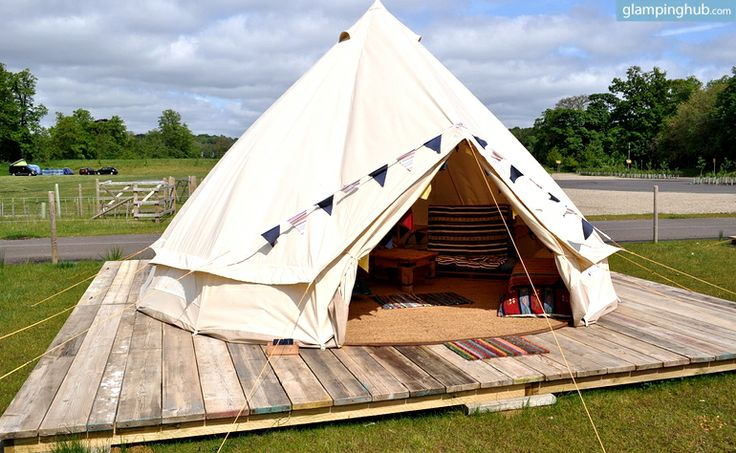 Camping Tents in Norwich | Glamping in the UK