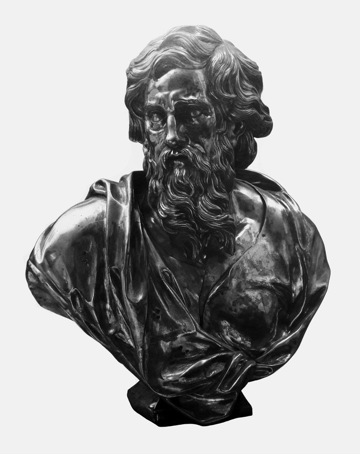 Silver bust of Saint Paul from Gniezno Cathedral by Guillaume Jacob in Paris, ca. 1703-1705, Muzeum Archidiecezji Gnieźnieńskiej, commissioned by Primate Michał Stefan Radziejowski