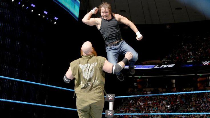 Dean Ambrose vs. Erick Rowan: photos