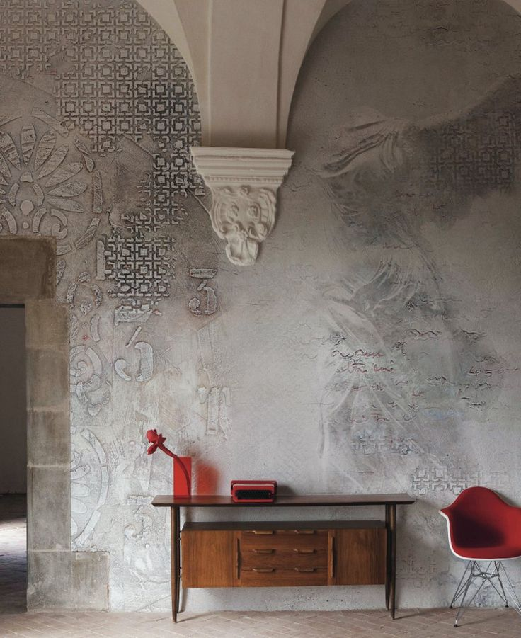EQ Dekor by Mapei and Inkiostro Bianco #wall