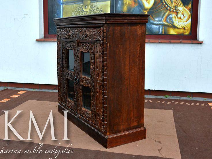karina meble indyjskie - kolonialna komoda z litego drewna