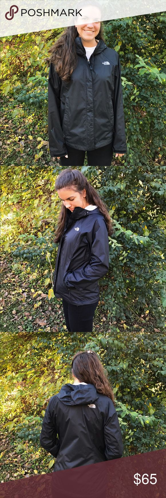 The North Face Women's Windbreaker This is wonderful lightweight jacket. It was worn once, but was the wrong size. Everything is in mint condition! The North Face Jackets & Coats Utility Jackets