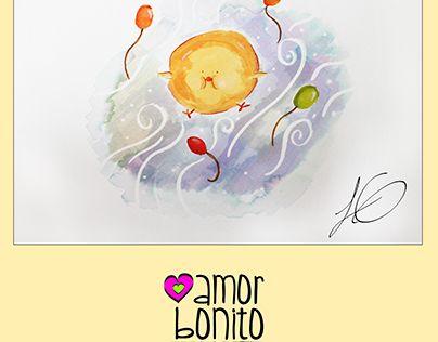 "Check out new work on my @Behance portfolio: ""Amor bonito pollito"" http://be.net/gallery/51641881/Amor-bonito-pollito"