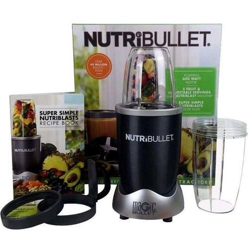 Buy Magic Bullet NutriBullet 600, Gray - 1 NutriBullet System at the lowest price from eVitamins. Find NutriBullet 600, Gray reviews, side effects, coupons and more from eVitamins.