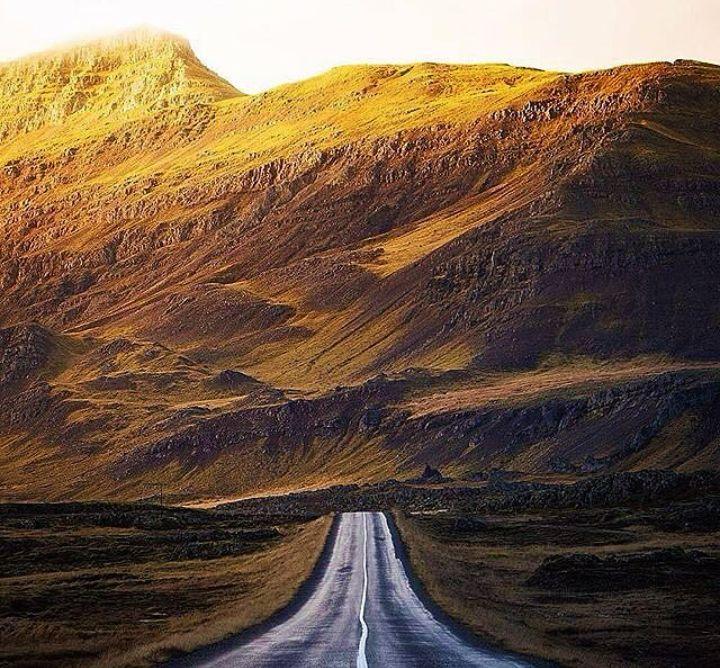Amazing Route 87 in Reykjalio Husavik, Iceland ///