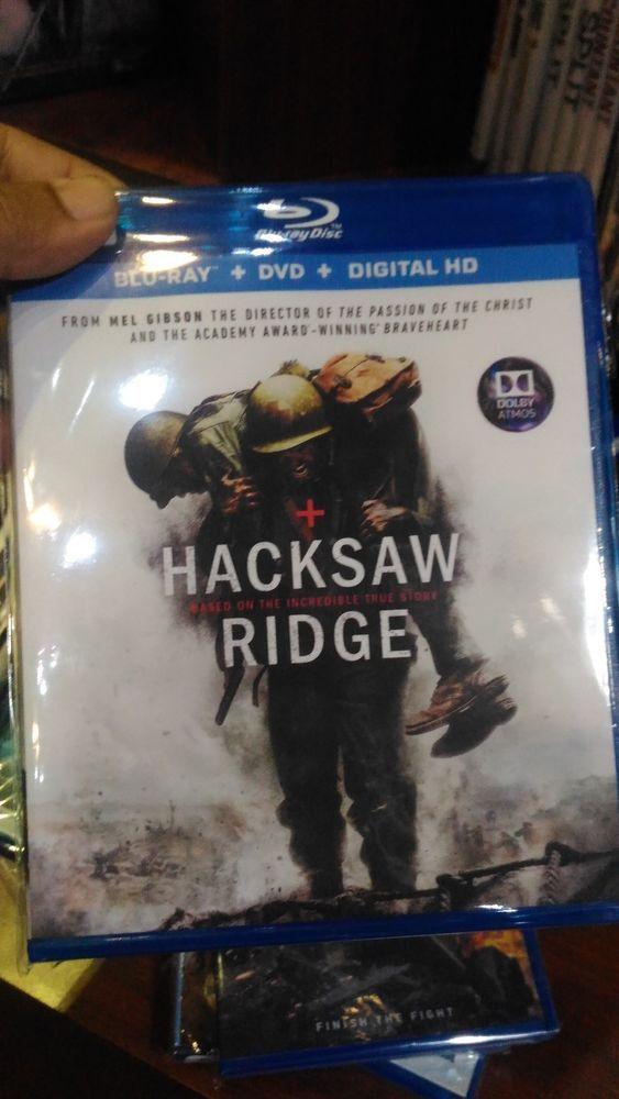Hacksaw Ridge Blu-ray Disc (FREE SHIPPING)
