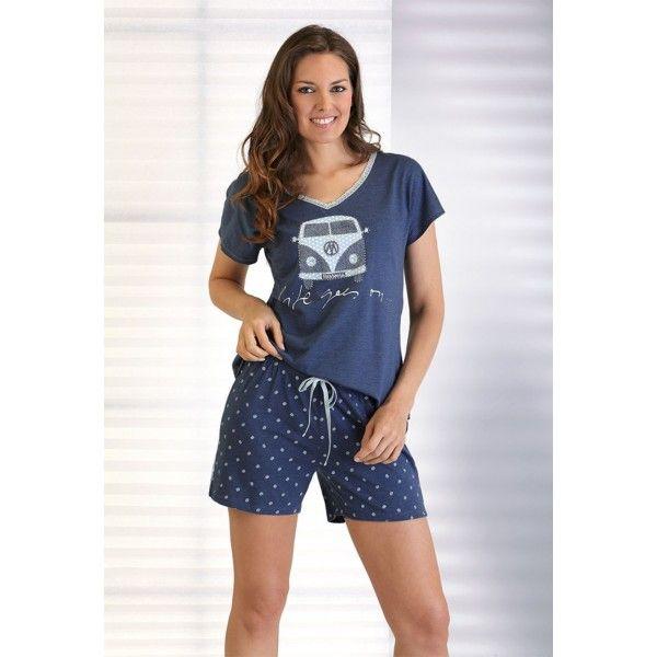 Pijama verano mujer Massana - RopaInterioryCalcetines