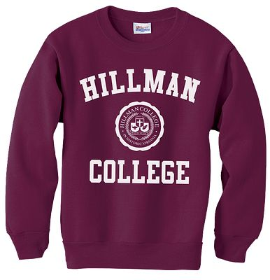 Hillman College apparel like on A Different World!