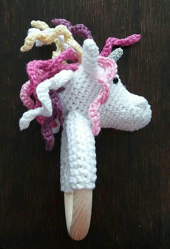 Teething rattle: Unicorn Silvery.
