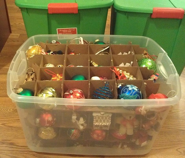 Best Way to Store Christmas Ornaments | Household Maintenance and Cle…