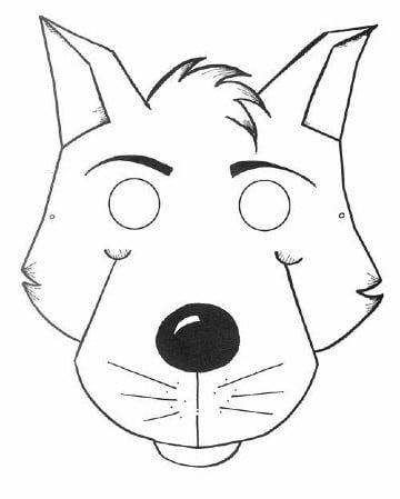 Imprime Estas Caras De Animales Para Colorear Para Tus Niños