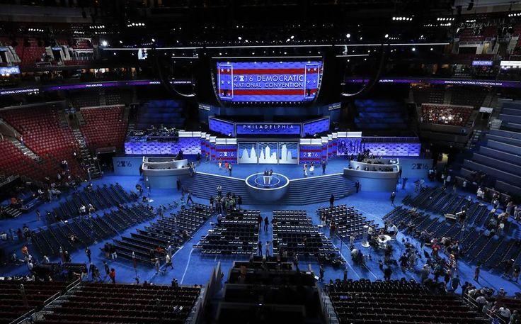 Philadelphia Gets Ready for Democratic National Convention   Photo Paul Sancya/AP