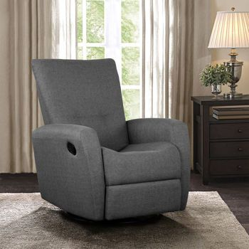 cashmere charcoal swivel glider recliner 700 costcoca one poor review gray out of stock