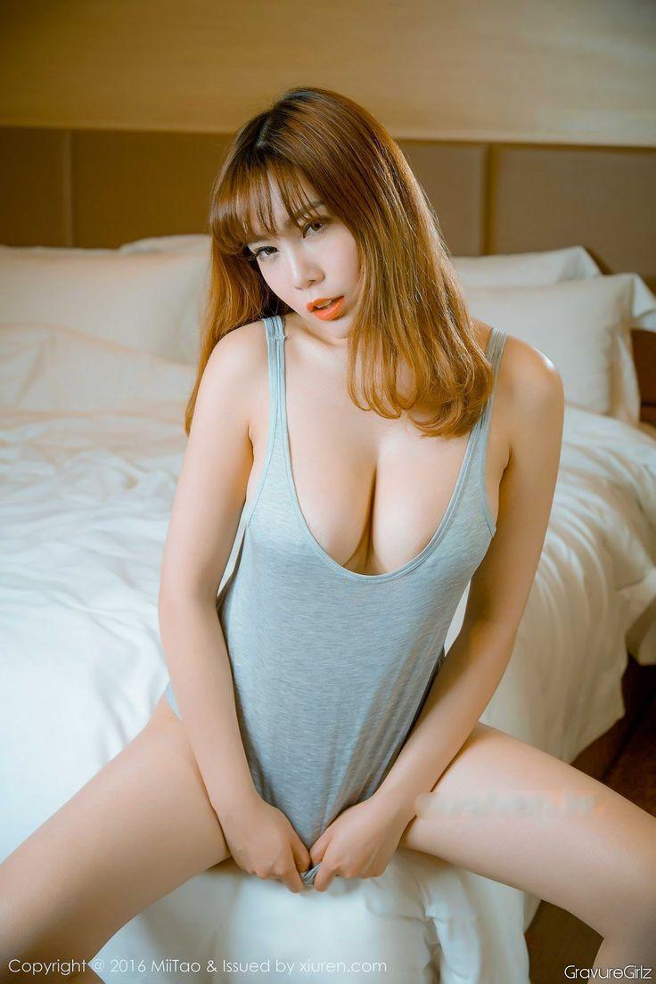 沐子熙V Muzixi – Giant Breasts & G-string Panties | MiiTao VOL.016 | GravureGirlz 宅男女神 美女图片