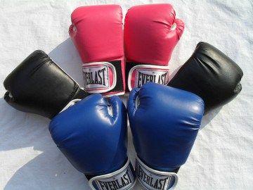 川西のボクシングジムでエクササイズ!