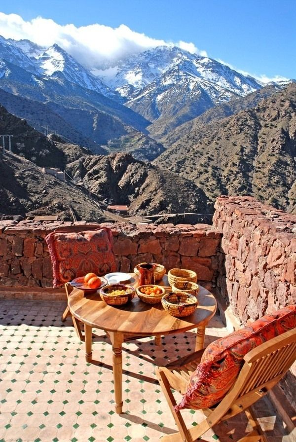 Kasbah du Toubkal Ecolodge, Marrakech, Morocco. For the best of art, food, culture, travel, head to theculturetrip.com