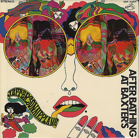 Jefferson Airplane, After Bathing At Baxters, Japanese, Deleted, vinyl LP album (LP record), Victor, SHP-5684, 365819