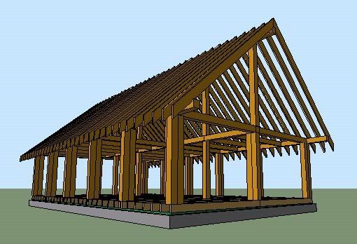 House plans blog and beads on pinterest for Cordwood building plans