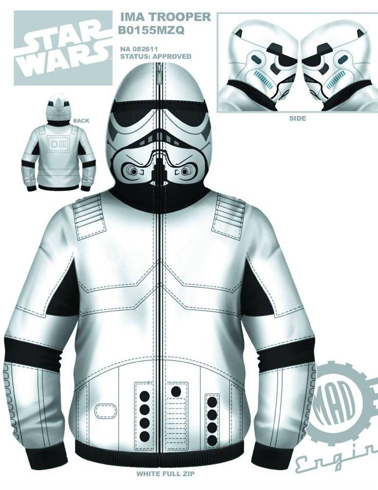 5 New STAR WARS Hoodies by MadEngine - News - GeekTyrant