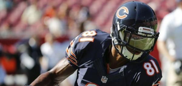 Chicago Bears wide receiver Cameron Meredith, who was carted off the field during Sunday's preseason game against the Tennessee Titans,…