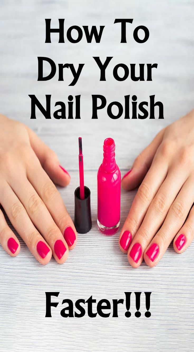 How To Dry Your Nail Polish Faster You Nailed It Face Painting Face Painting Easy