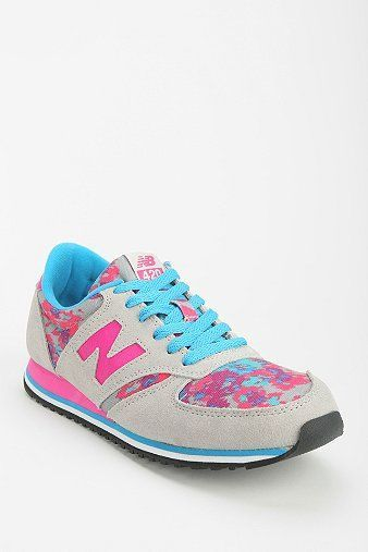 Trendy Women's Sneakers :   New Balance 420 Floral Blur Running Sneaker    - #Women'sshoes