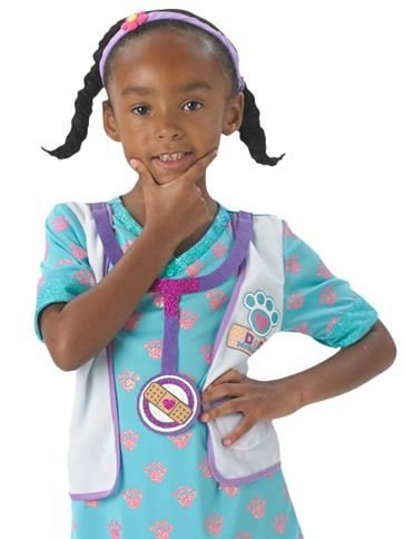 Child: Doc McStuffins Child Vet Costume (From age 3yrs upto 6yrs)