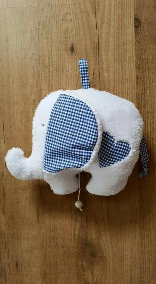 Weiche Elefanten Spieluhr Nähen Pinterest Sewing Sewing For