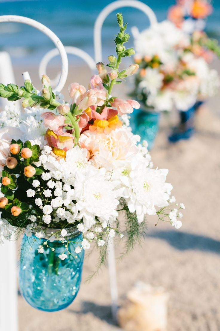 294 best Mint and coral wedding images on Pinterest | Beach weddings ...