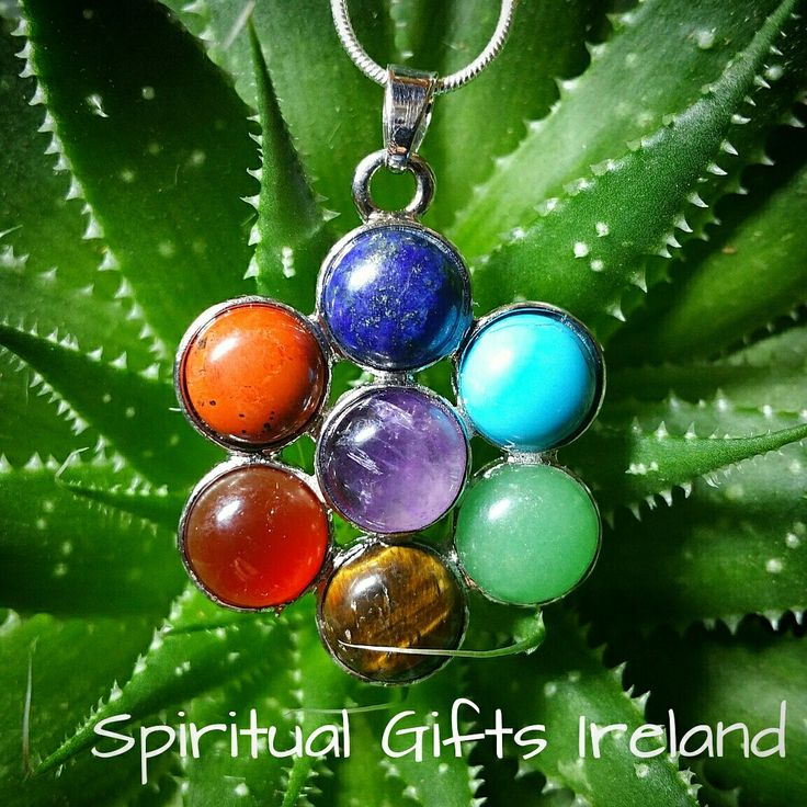 Flowers have a magical way of lifting even the lowest emotions.Their simple presence raises the vibrations in any room.The petals on our 'Chakra Flower Pendant' have a unique colour that vibrationally corresponds with one of your chakras❤ Follow us on : www.facebook.com/spiritualgiftsireland  www.instagram.com/spiritualgiftsireland  www.etsy.com/shop/spiritualgiftireland