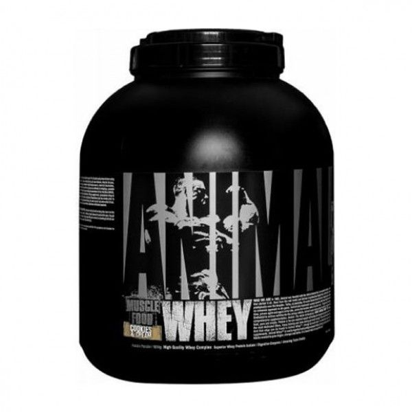 Animal Whey protein for Bodybuilders, weight lifters and pretty much all fitness enthusiasts, it plays as the primary nutrient required for muscle growth and restoration.