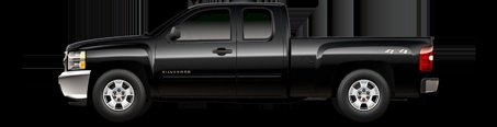 2012 Silverado All-Star Edition, extended cab - great deals during Chevy Truck Month!