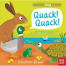 buy can you say it too quack quack book online at johnlewis