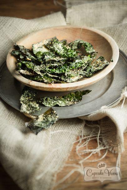 crispy kale recipe parmesan chips baked kale chips kale crisps kale ...
