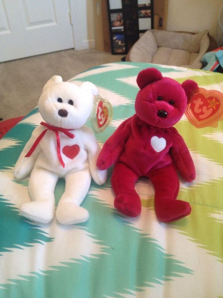 Rare Retired Valentina&Valentino Set Ty Bears W/tag  Errors  | eBay