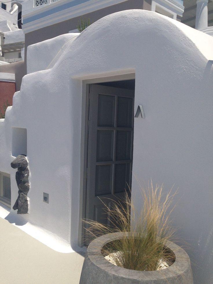One of the delightful Caldera Suites at Iconic Santorini...