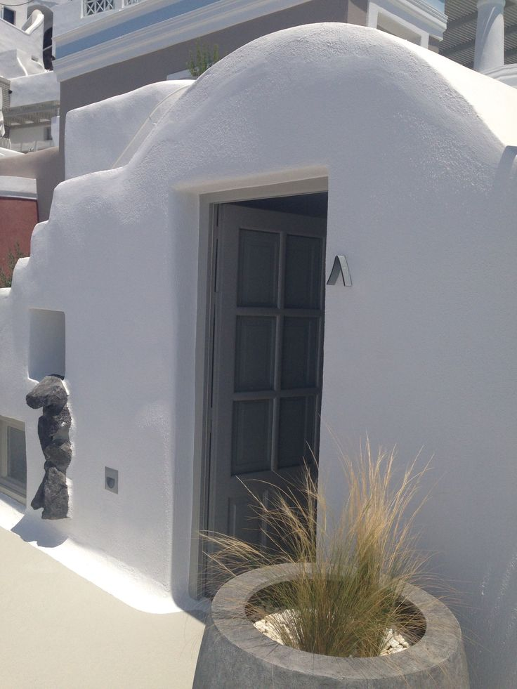 One of the delightful Caldera Suites at Iconic Santorini...