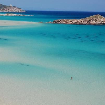 Chia Beach in South Sardegna - the most beautiful beach you'll find anywhere in the Mediterranean, total paradise!