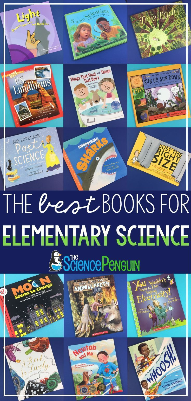 The BEST Books for Elementary Science  #elementaryscience #literacy