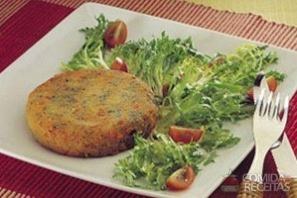 Receita de Hambúrguer de legumes e carne de soja em receitas de salgados, veja essa e outras receitas aqui!