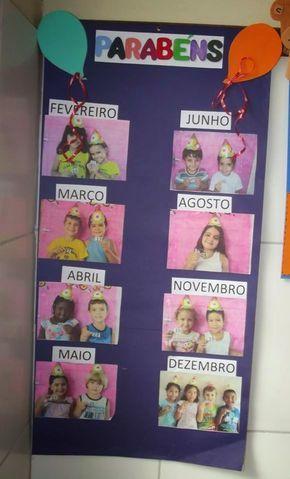 Mural de aniversariantes personalizado