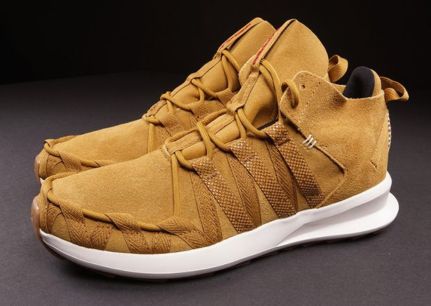 Adidas Sl 08 Brown Suede Trainers