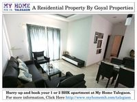 1 & 2 BHK Residential Property near Talegaon Dabhade Pune at My Home Talegaon