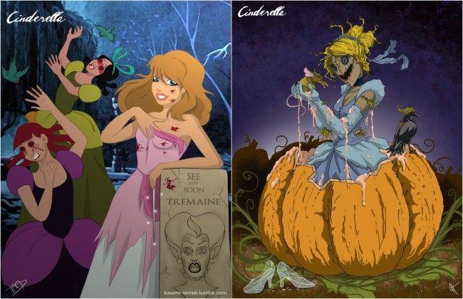 1815 Alice Zombiországban, avagy mi lenne, ha a Disney hercegnők a gonoszok táborát gazdagítanák