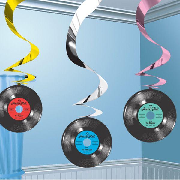 Ideales para decorar fiestas años 50! De www.fiestafacil.com / Ideal for decorating 1950s parties! From www.fiestafacil.com